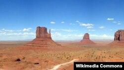 Böyük Utah səhrası.