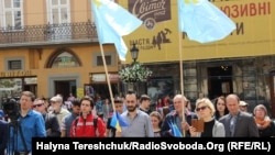 75-і роковини депортації кримськотатарського народу, Львів, 18 травня 2019 року