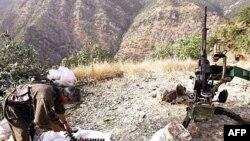 یک شبه نظامی پ کا کا در کردستان عراق