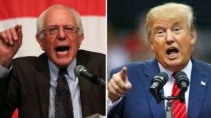 Berni Sanders i Donald Tramp