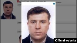 Mukhtar Ablyazov's former bodyguard Aleksandr Pavlov in an image on the Interpol website
