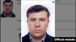 Александр Павловтың Интерпол сайтындағы суреті.