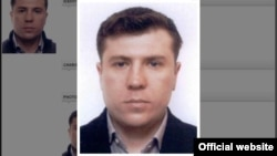 Фотография Александра Павлова, бывшего телохранителя оппозиционного политика Мухтара Аблязова, на сайте Интерпола.