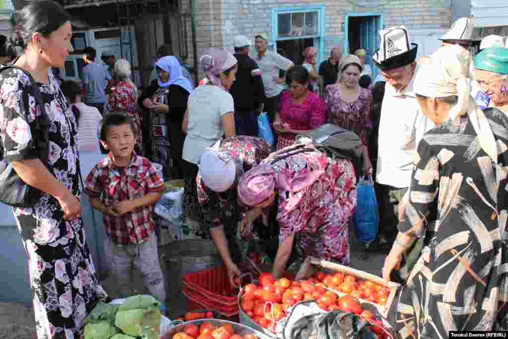 Исфана. Одна из крайних точек на карте Кыргызстана