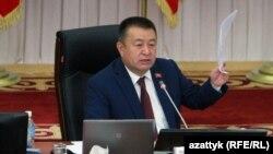 Спикер парламента Чыныбай Турсунбеков