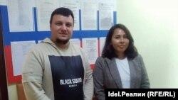 Антон Кравченко и Эльза Нисанбекова