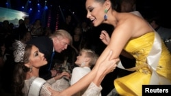 """Дональд Трамп на конкурсе """"Мисс Вселенная"""" в Москве в ноябре 2013 года."""