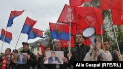 Protest comunist la Chişinău, 23 septembrie 2013