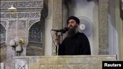Лидер экстремистской группировки «Исламское государство» Абу Бакр аль-Багдади.