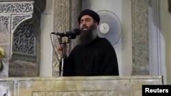 """Лидер группировки """"Исламское государство"""" Абу-Бакр аль-Багдади"""
