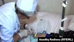 Arxiv foto: Diabet xəstəsi