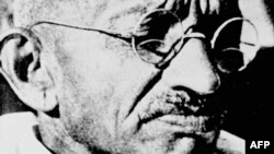 Махатма Ганди.