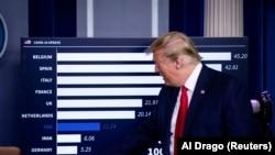 Американскиот претседател Доналд Трамп