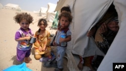 Iraqi children from the city of Fallujah are among an estimated 3.3 million Iraqis displaced by the war with Islamic State.