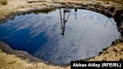 Arxiv fotosu: Balaxanıda neft çirkabı