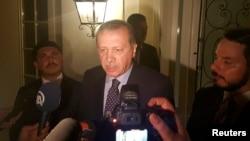 Түркиянын президенти Режеп Тайип Эрдоган.