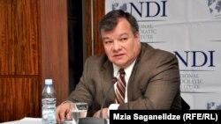 По словам политолога, Луис Наварро, который возглавлял грузинское отделение NDI, в течение многих лет фактически давал возможность «Единому национальному движению» сформировывать ту мысль о политической погоде или процессах в Грузии, которая устраивала само «Национальное движение»