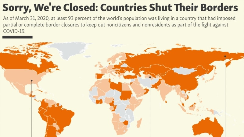 Sorry, We're Closed. Countries Shut Their Borders