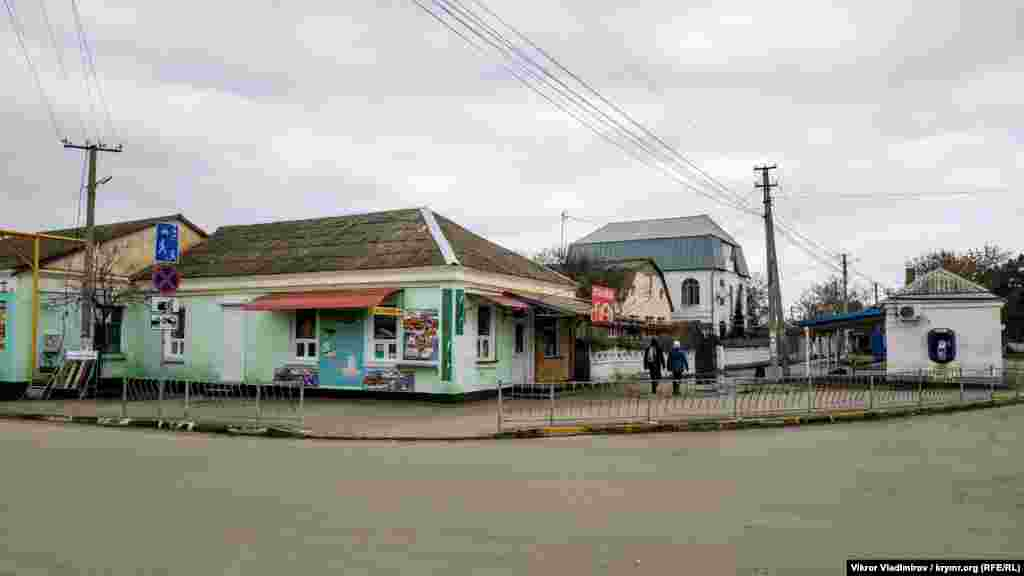 Центральне перехрестя селища