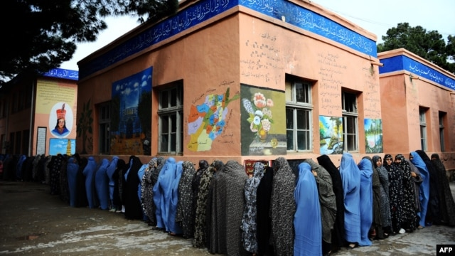 Despite a substantial level of anticipation in the first round of Afghanistan's presidential election, the authors argue that much more needs to be done before democracy is firmly established in the country.