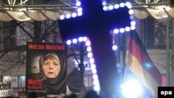 Демонстрация движения ПЕГИДА (Лейпциг, 21 января 2015 года)