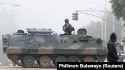 Vojska na ulicama Hararea, Zimbabve