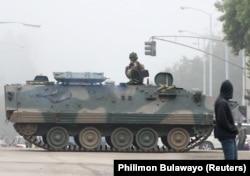 Переворот в Зимбабве. 14 ноября
