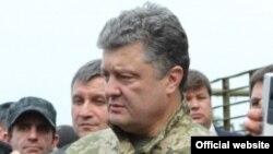 Петро Порошенко на Донбасі, 20 червня 2014
