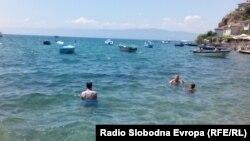 Илустрација - Охридско езеро.