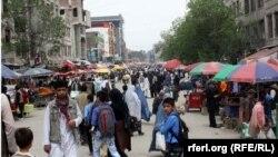 Աֆղանստան - Քաբուլի փողոցներից մեկը, արխիվ