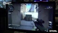 Украінскія пэнсіянэры гуляюць у Counter-Strike