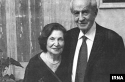Goar Vartanian with her husband, Georg