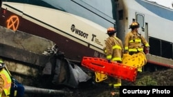 Рятувальники на місці катастрофи