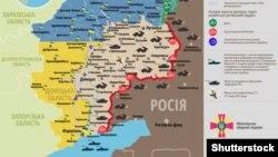 Ситуація в зоні бойових дій на Донбасі, 31 жовтня 2015 року