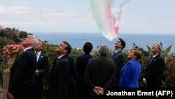 Իտալիա - Մեծ յոթնյակի գագաթնաժողովի մասնակիցները, Տաորմինա, Սիցիլիա, 26-ը մայիսի, 2017թ․