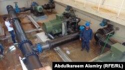 مشروع محطة ماء خور الزبير