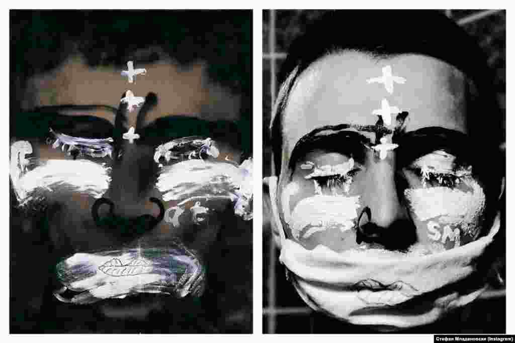 """""""Шминка"""" (1998), Ентони Тапиес"""