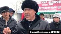 Әбдірахым Бейсен, автобус жүргізушісі. Астана, 27 желтоқсан 2017 жыл.