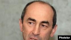 Former President Robert Kocharian