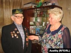 Сугыш ветераны Миңнегали Бикмөхәммәтов кызы белән