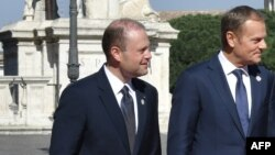 Alături de Donald Tusk, președintele Consiliului Europei