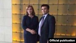 Наталья Герман и Павел Климкин