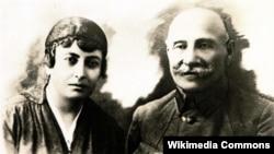 Nigar Qayıbova-Şıxlinskaya və Əliağa Şıxlinski