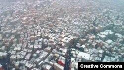Стамбульские трущобы с высоты птичьего полета