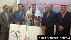 أعضاء في المجلس السياسي العربي في كركوك