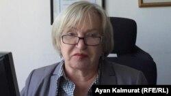 """Тамара Калеева, """"Әділ сөз"""" қоғамдық қорының президенті."""