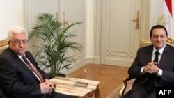دیدار شهریور ماه محمود عباس و حسنی مبارک در قاهره