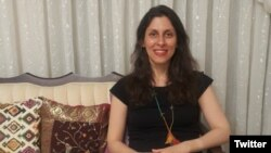 --Iranian aid worker Zaghari-Ratcliffe temporarily released from Iran jail on Tuesday, March 17, 2020.