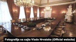 Sala za održavanje sjednica Vlade Hrvatske