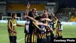 Игроки футбольного клуба «Кайрат». Иллюстративное фото.